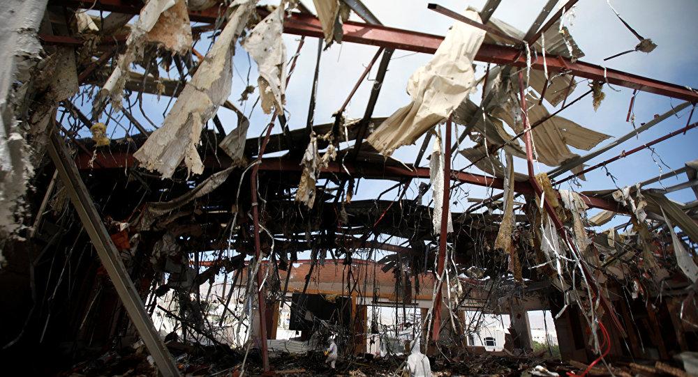 Ataque aéro en Yemen (archivo)