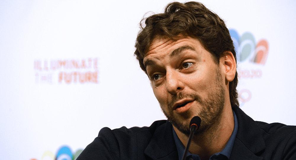 Pau Gasol, basquetbolista español