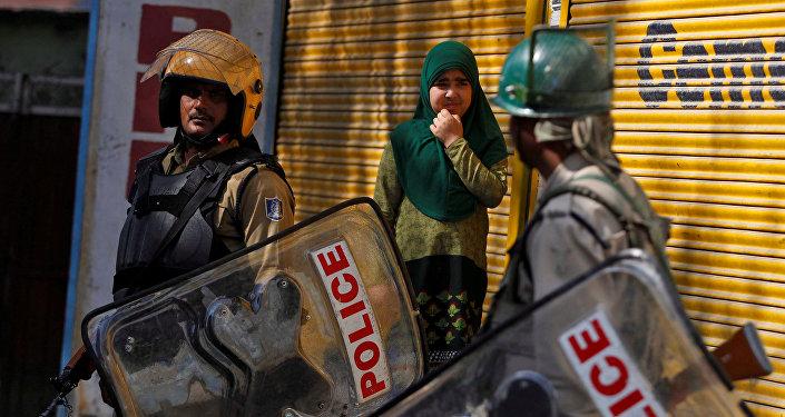 Policías indios (archivo)