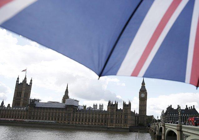 El Parlamento de Reino Unido en Londres
