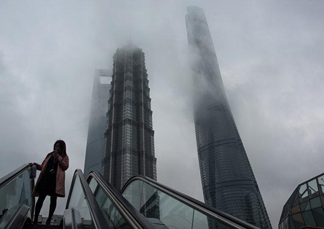 Rascacielos en Shanghái (archivo)