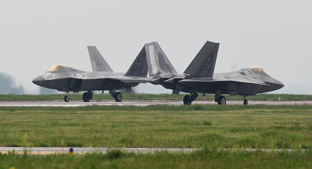 Los aviones de combate estadounidenses en Rumanía