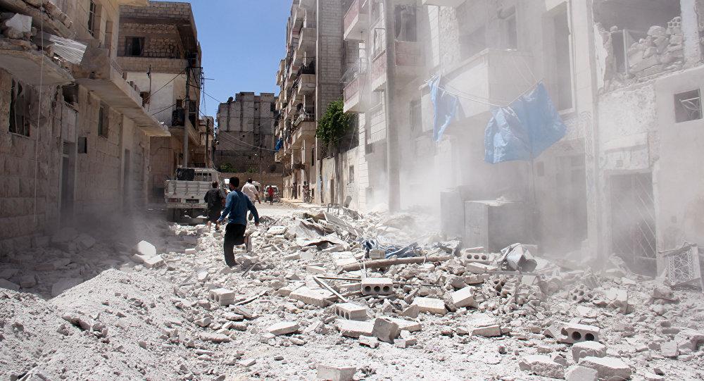 La ciudad de Idlib (imagen referencial)