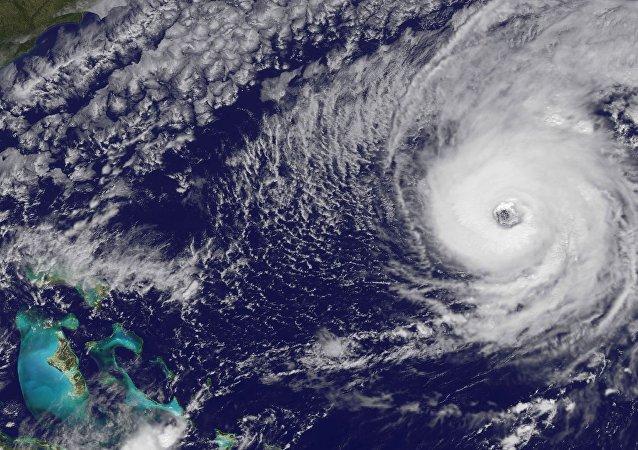 El huracán Nicole
