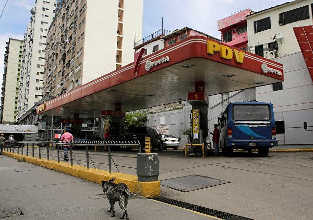 Gasolinera en Venezuela (archivo)