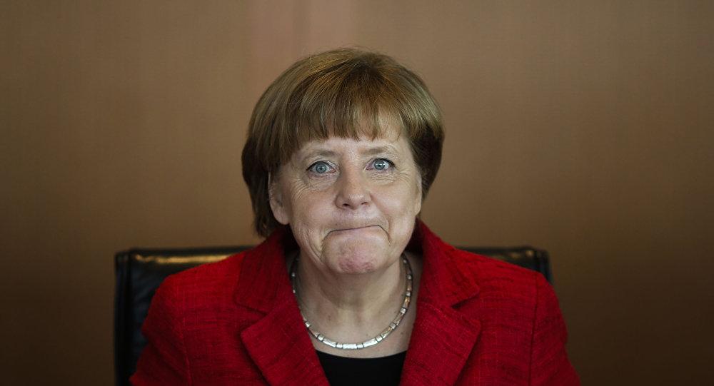 Canciller alemana Angela Merkel