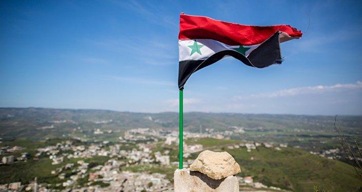 Bandera siria (archivo)