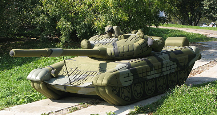 Tanque inflable (Archivo)