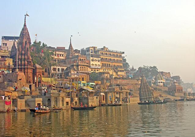 Varanasi, la India