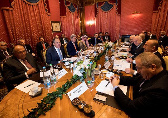 La reunión sobre Siria en Suiza, el 15 de octubre de 2016