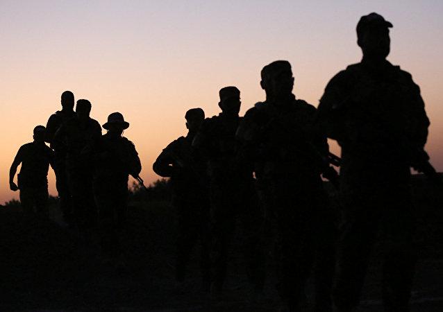 Fuerzas chabaquíes en Mosul
