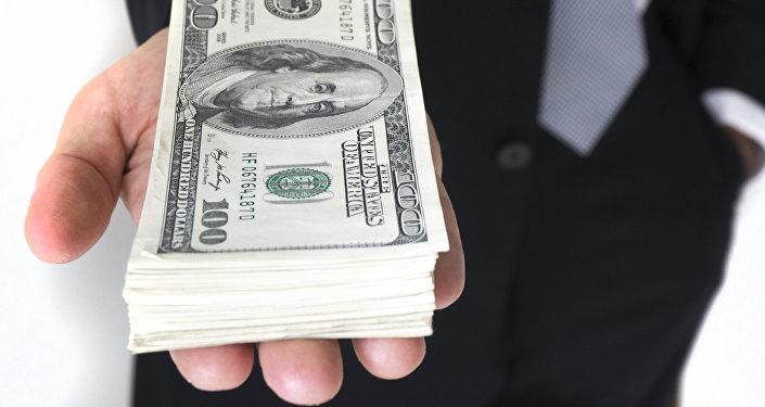 Dinero (billete de 100 dólares)