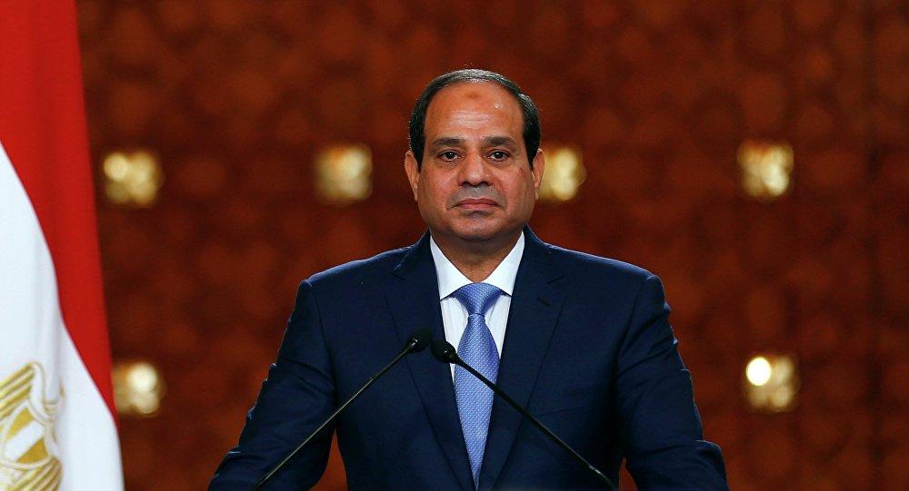 Abdelfatah al Sisi, presidente de Egipto (archivo)