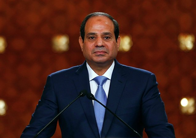 Abdel Fattah al-Sisi, presidente de Egipto