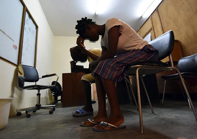 Mujeres liberianas víctimas de violaciones
