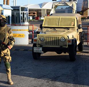 Militares egipcios (archvio)