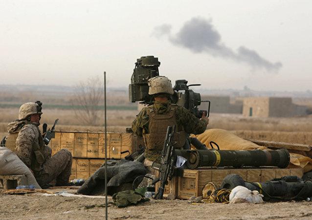 Militares con el sistema antitanque TOW (archivo)