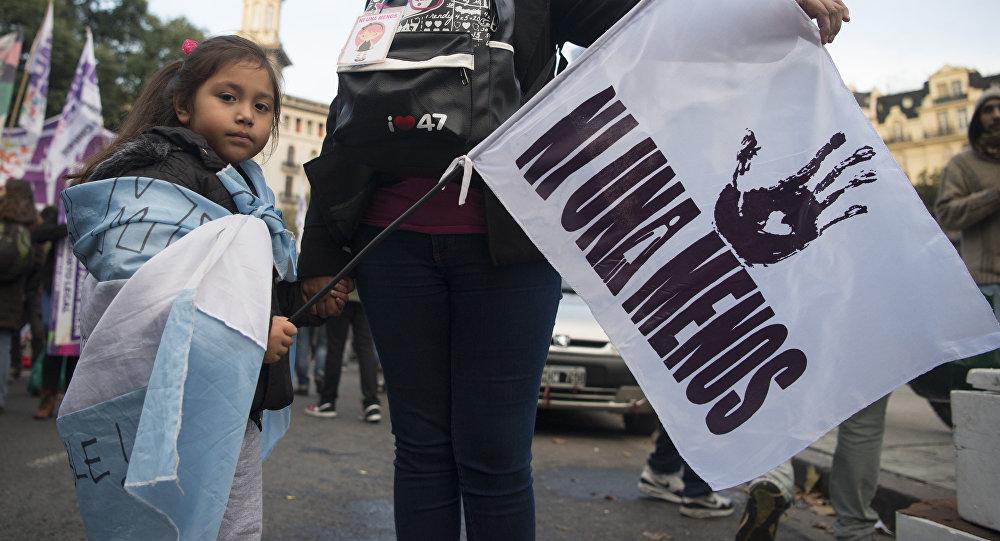 Marcha del colectivo Ni Una Menos, en Buenos Aires (archivo)