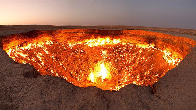 Pozo de Darvaza, Turkmenistán