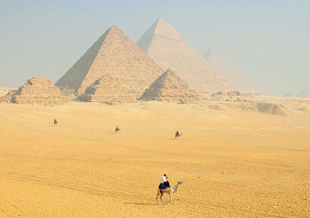 La Necrópolis de Guiza, en Egipto