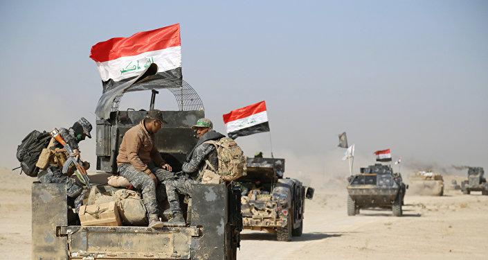 Las fuerzas de seguridad de Irak cerca de Mosul (archivo)