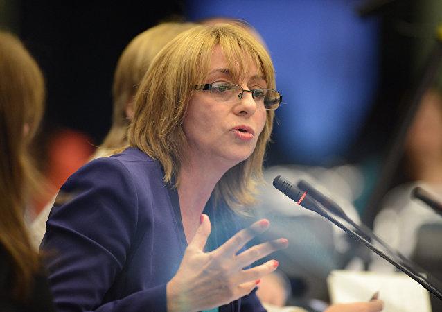 Alejandra Gils Carbó, procuradora general de Argentina (archivo)