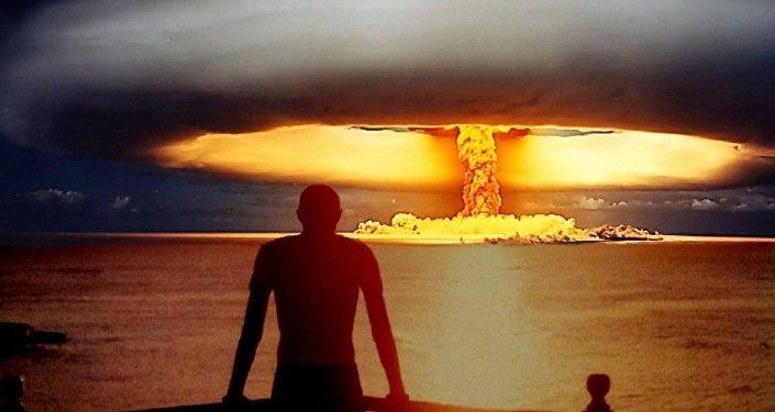 Hipotetica explosión nuclear