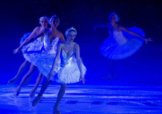 Ballet sobre hielo  (archivo)