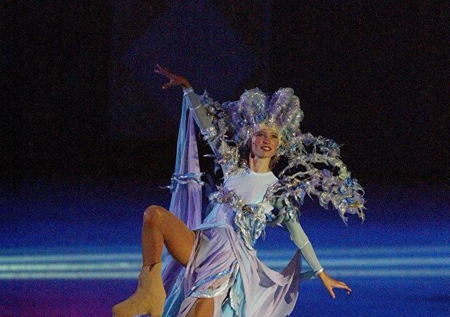 Ballet ruso sobre el hielo