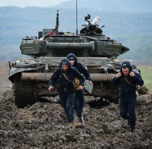 Precisión y fiabilidad: así son los ejercicios de tanques en Chechenia