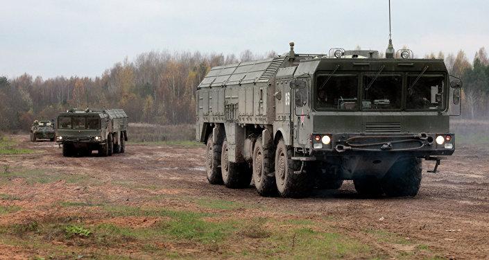 Iskander-M, sistema de misiles tácticos