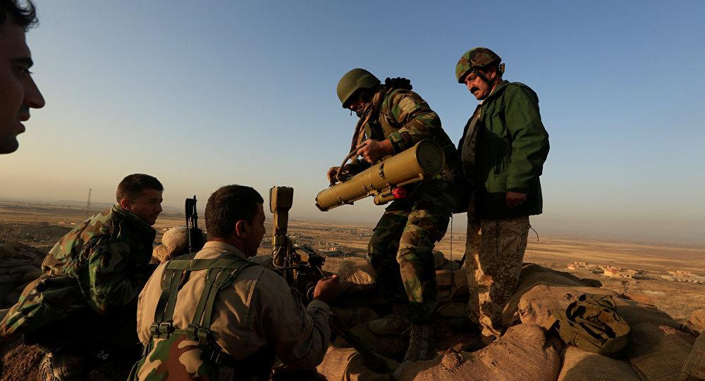 Milicias kurdas (archivo)