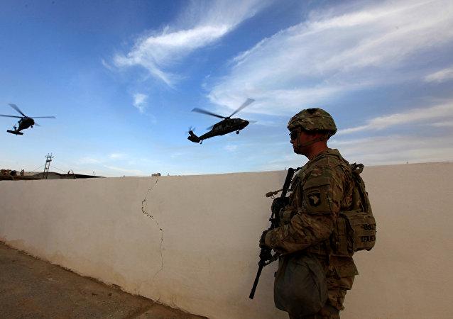 Un militar estadounidense