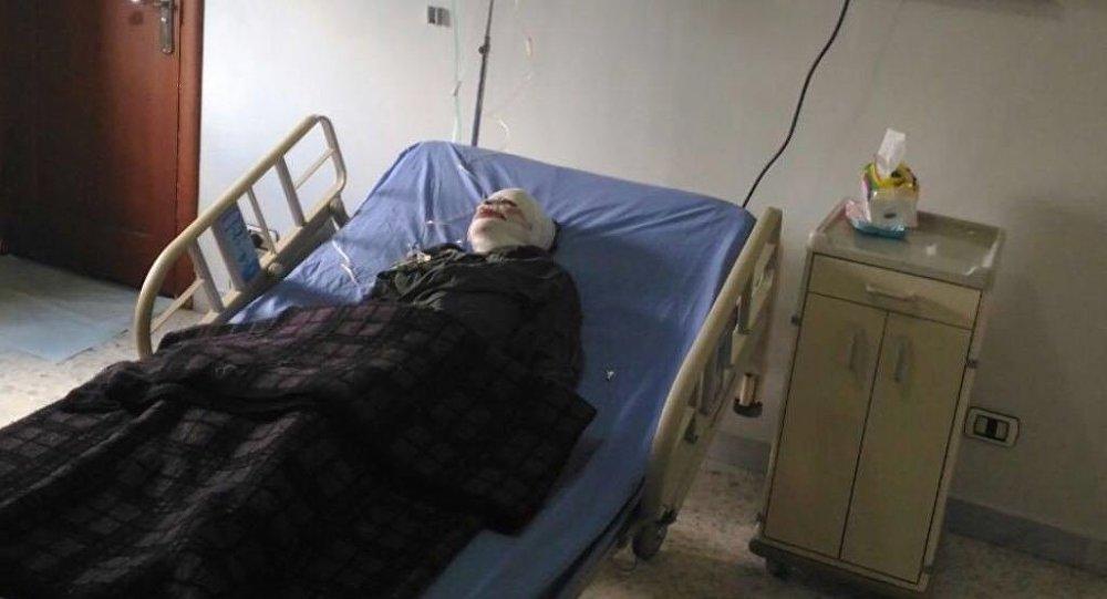 Ahd Al-Khaderi, niña víctima de un incendio en Alepo
