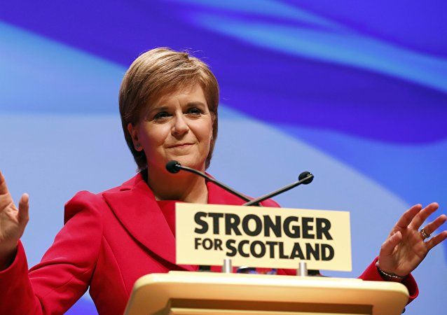 Nicola Sturgeon, la ministra principal de Escocia