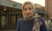 Fatima Manji, presentadora de la cadena británica Channel 4