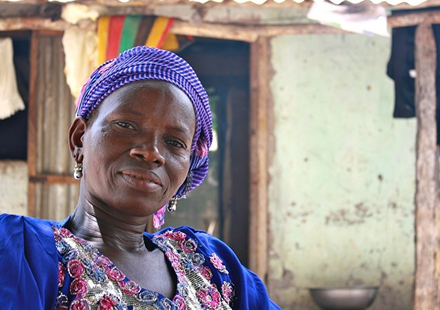 Una mujer africana (archivo)