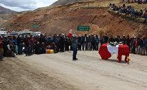 Represión y muerte en protesta por proyecto minero en Perú