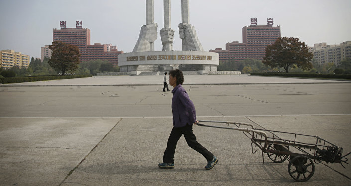Pyongyang, capital de Corea del Norte (archivo)