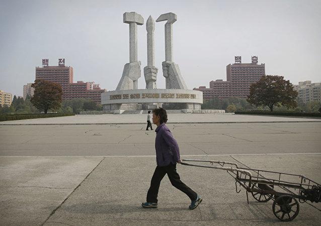 Pyongyang, capital de Corea del Norte (archivo)
