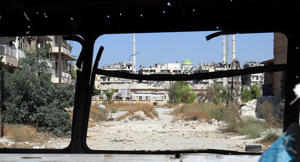 Situación en Alepo (archivo)