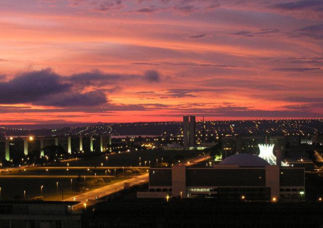 La ciudad de Brasilia, Brasil