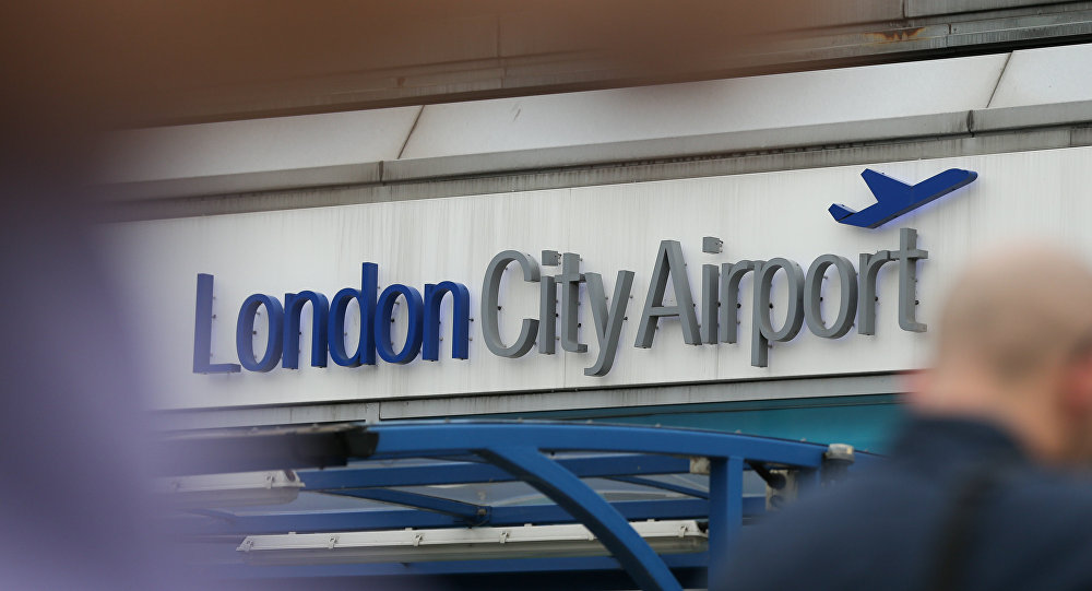 Evacúan el London City Airport tras producirse un incidente de tipo