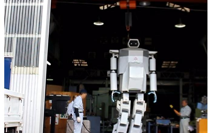 Conoce al enorme robot humanoide de la serie Gundam