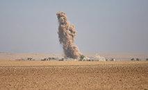 La operación en Mosul, Irak