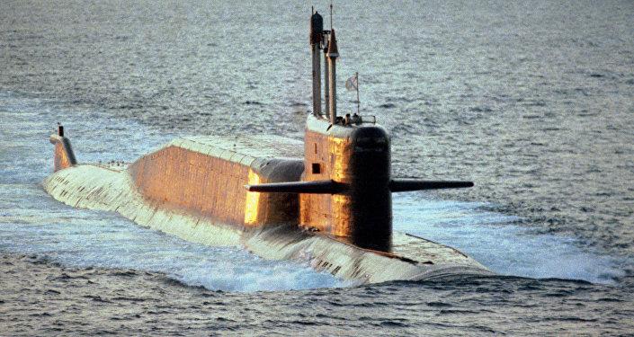Submarino del proyecto 667BDRM (archivo)