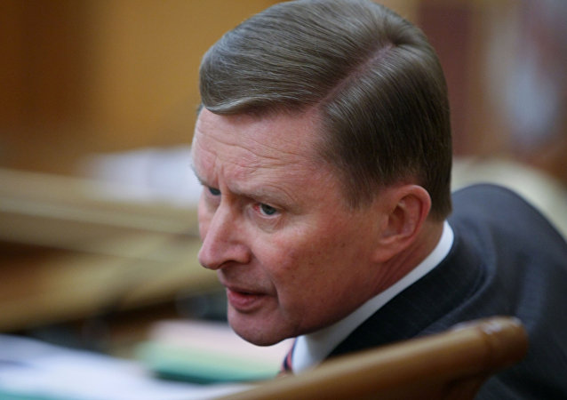 Serguéi Ivanov, exjefe de la administración del Kremlin