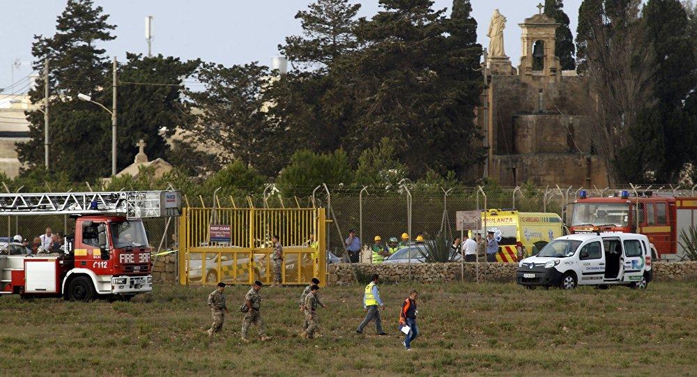 Mueren cinco personas tras estrellarse avioneta en Malta