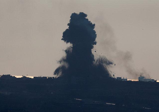 La situación en la Franja de Gaza (archivo)