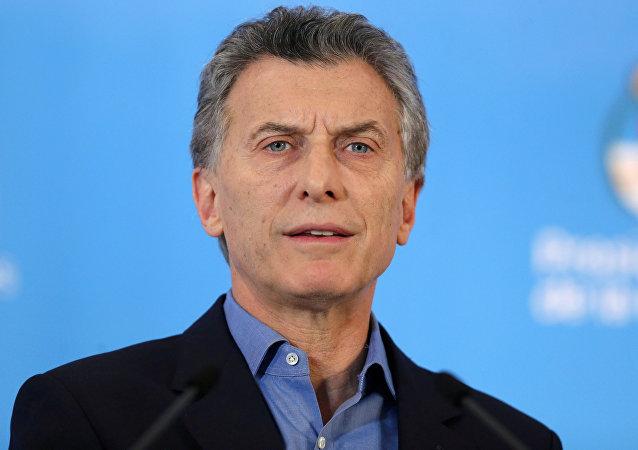 Mauricio Macri, el presidente de Argentina (archivo)